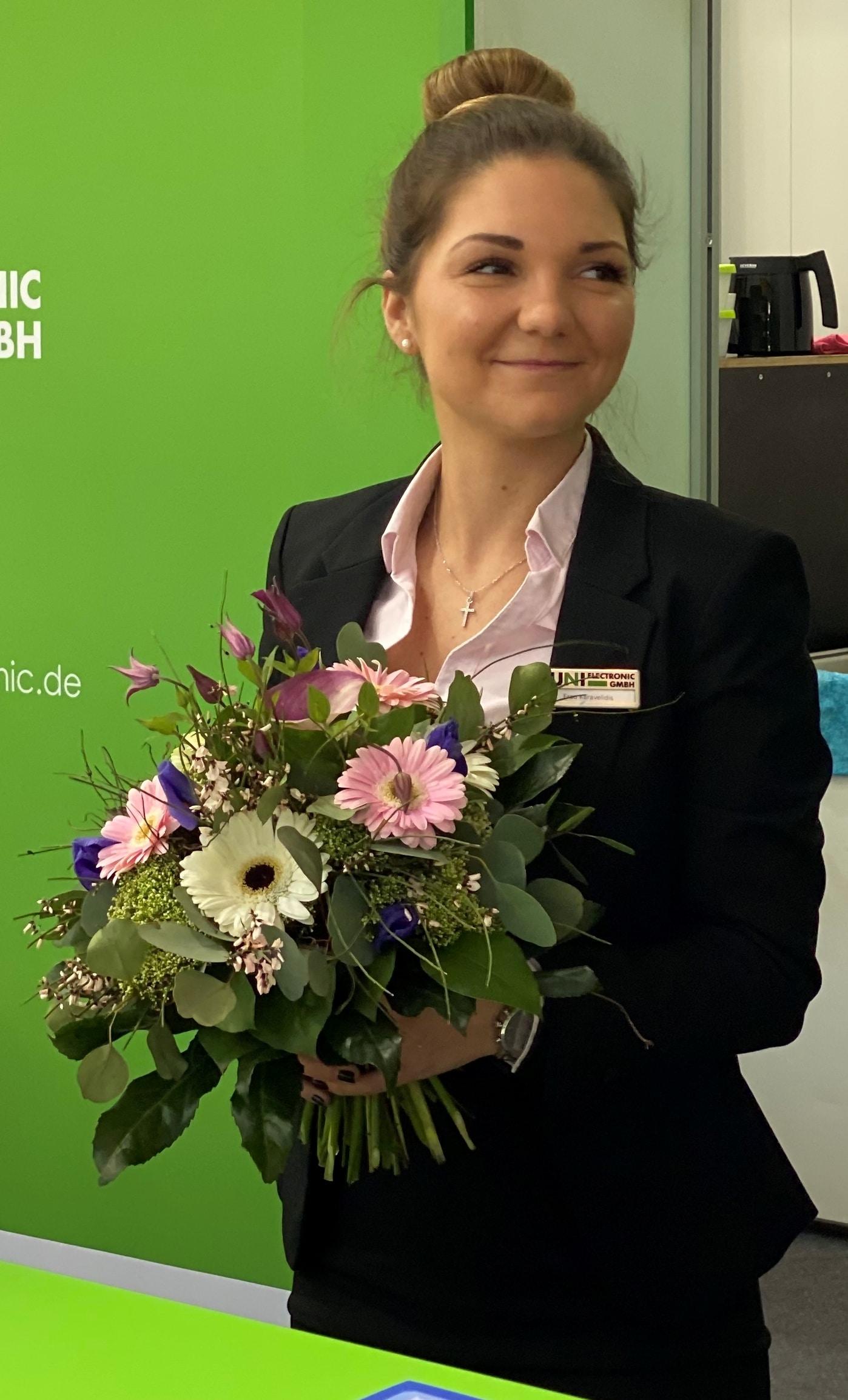 Unser Geburtstagskind Christina Karavelidis