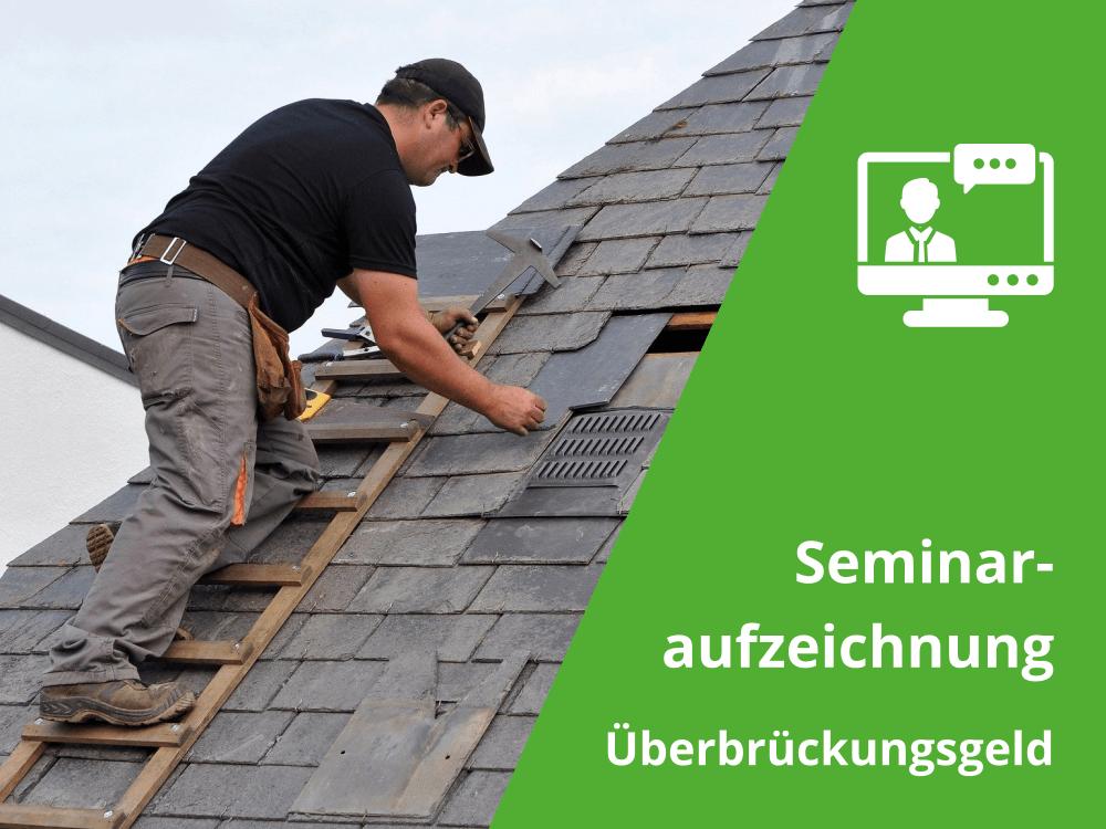 Seminar Baulohn Überbrückungsgeld-Titelbild