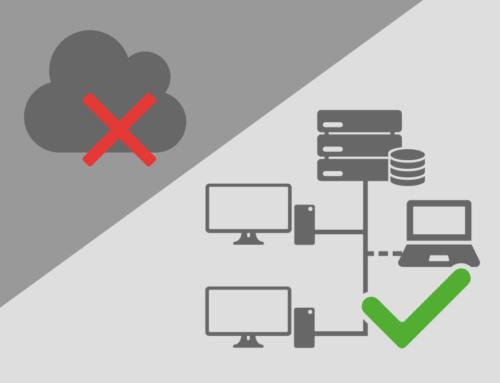 Daten-Cloud vernichtet – Unsere Alternative: U-H-T