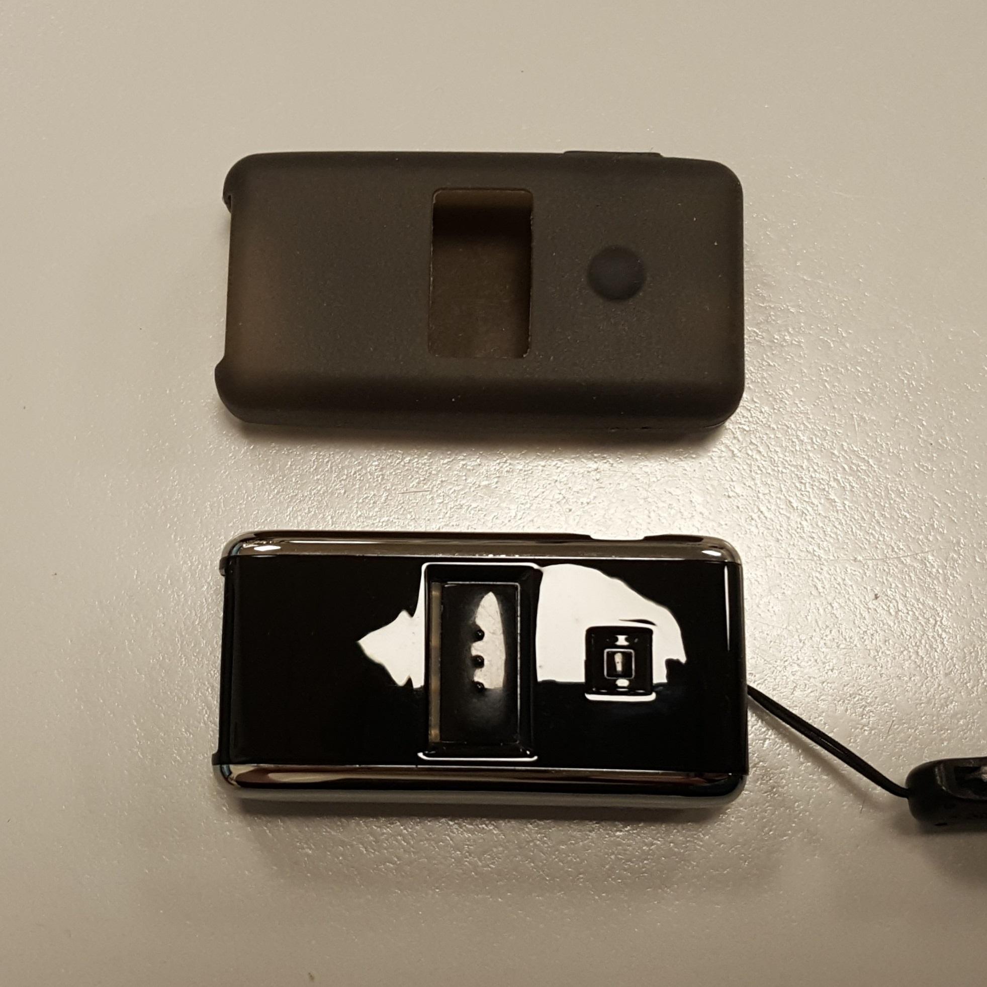 Handscanner und Schutzhülle